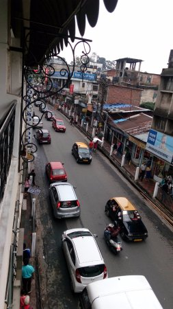 Monsoon: view from balcony