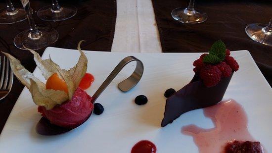 Lons-le-Saunier, Франция: mousse au chocolat