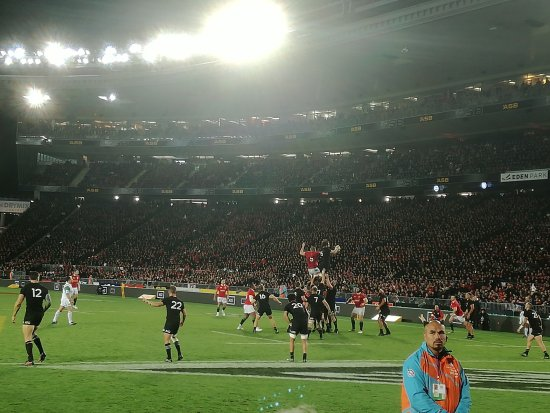 Auckland Region, New Zealand: 1st Lions Test