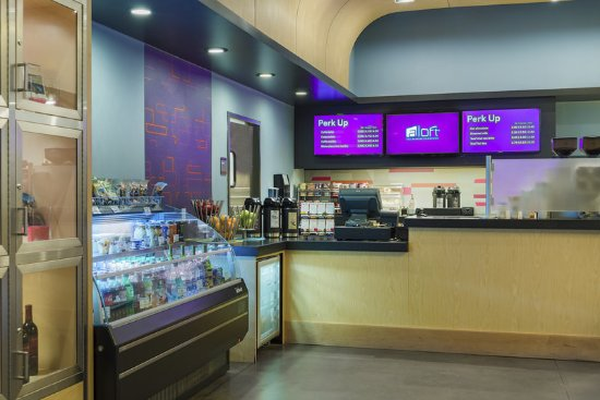 Aloft Tallahassee Downtown: re-fuel