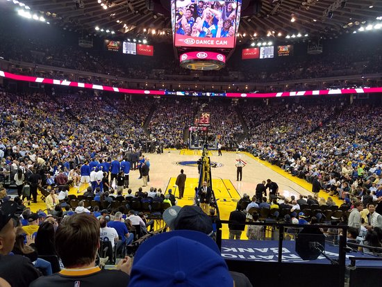 Oracle Arena: View from my seat