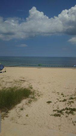 Higashi-son, Japan: 海も綺麗でした
