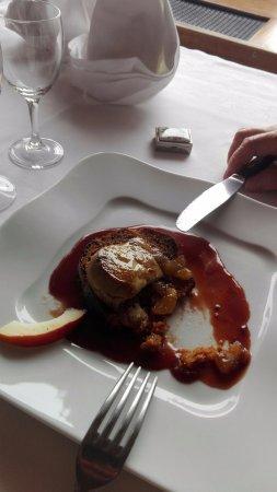 Penvenan, France : Fois gras poêlé et pain d'épice