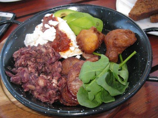 Table View, Sudáfrica: Mexican breakfast half portion - divine