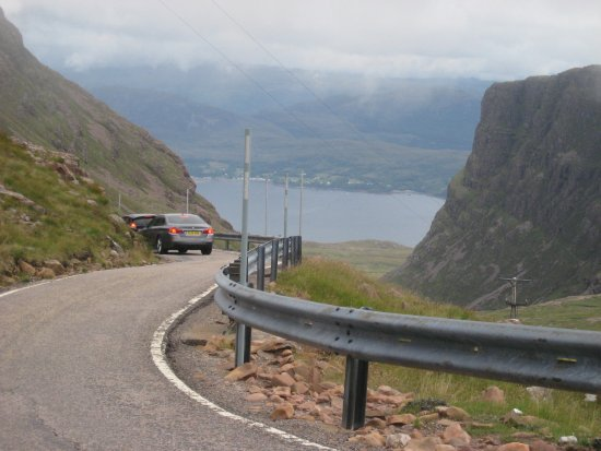 Contin, UK: Mountain Pass 'Bealach Na Ba'