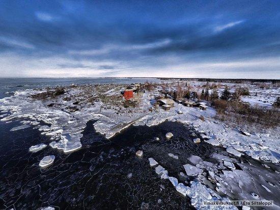 Mustasaari, Finland: Kalles Inn, winter