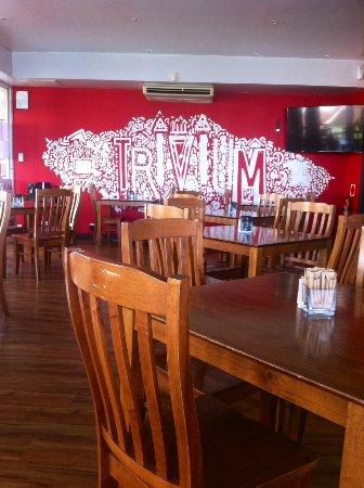 Gerringong, ออสเตรเลีย: indoor restaurant area