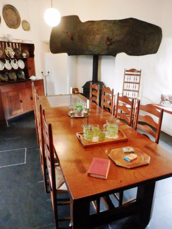 Leicestershire, UK: Stoneywell - House dining room