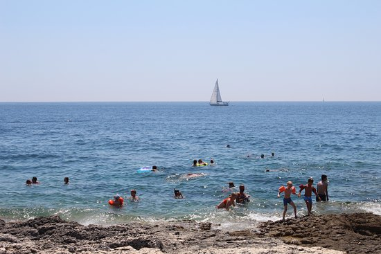Kamenjak, Kroatien: direttamente dalla punta di premantura (croazia), uno scorcio sul mare istriano