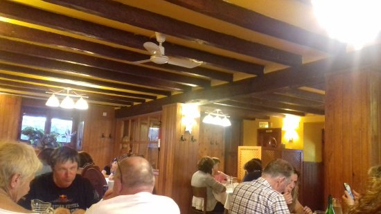 Isaba, Ισπανία: view of the restaurant