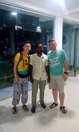 Sri Lanka Private Driver: My brother & tour driver Ishan with USA guest.. shiyanfazool@gmail.com