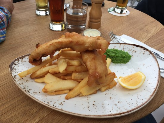 Takapuna, Nowa Zelandia: Beer battered fish and chips