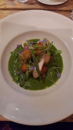 Felin Fach, UK: Delicious!