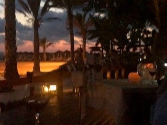 Constantinou Bros Asimina Suites Hotel: Sunset from restaurant