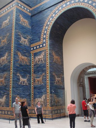 babylon ishtar gate 604 562 bc picture of pergamon museum