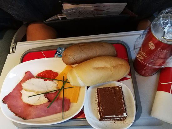Czech Airlines: Pre-ordered meal