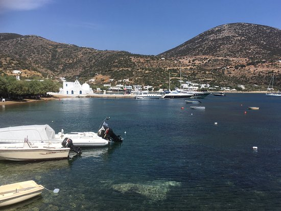 Elies Resorts Sifnos: Beautiful location