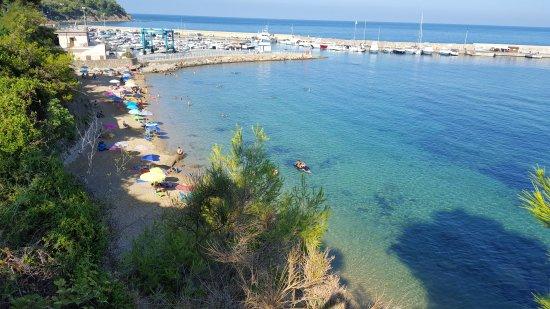 San Marco, Italy: Spiaggia La Grotta