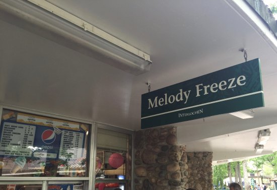Interlochen, MI: The Melody Freeze still charges $2 for an ice cream.