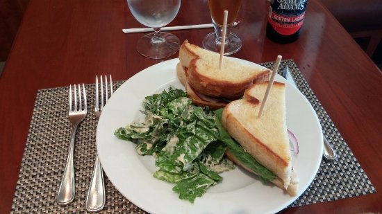 turkey club, NM Cafe at Neiman Marcus, Troy, MI, July 2017