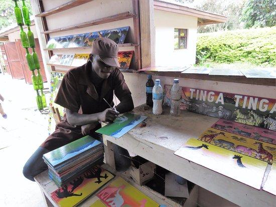 Arusha Coffee Lodge: what talents