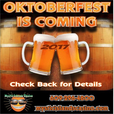 Tuckerton, NJ: Oktoberfest menu will be out starting October 1st!