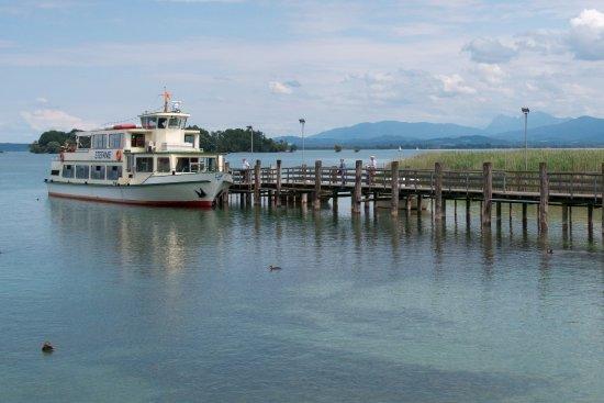 Chiemsee Schifffahrt : The ferry at Herreninsel