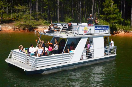 Boat Party On Lake Allatoona With Paradise Boat Rentals Picture Of