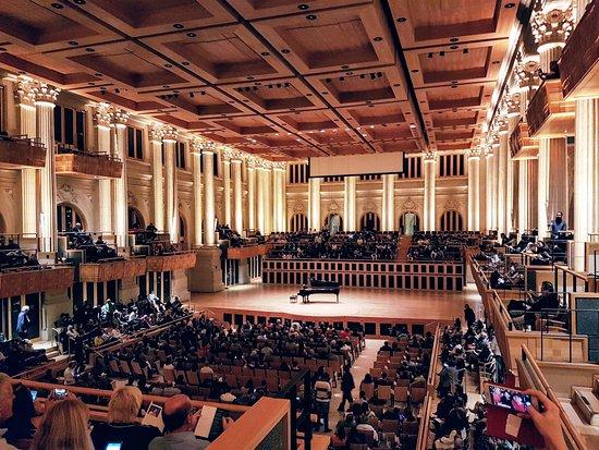 Sala São Paulo: Visibilidade excelente