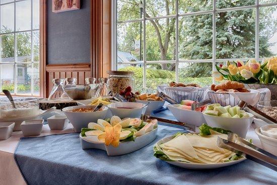 Saint-Marc-sur-Richelieu, Canada: Déjeuner - Tablée de l'Aubergiste
