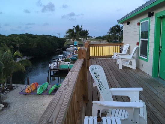 Coconut Cay Resort & Marina : view from 2nd floor balcony of Turtle lodge, #4