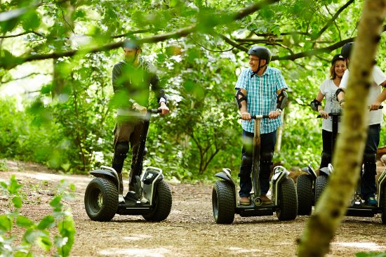 Bray on Thames, UK: Segway Events @ Windsor