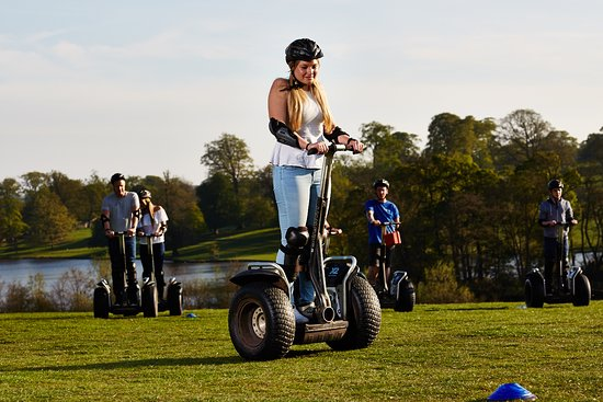 Tamworth, UK: Segway Events