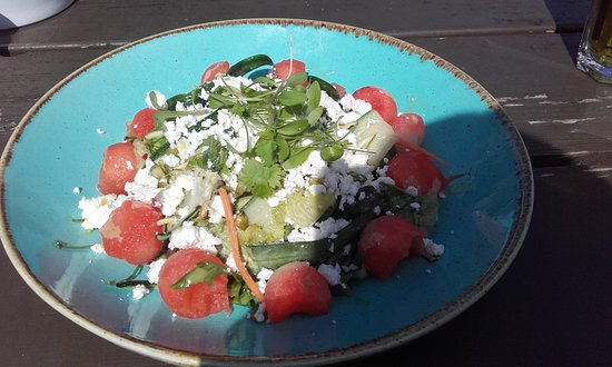 The Farm House Restaurant: Watermelon and feta salad