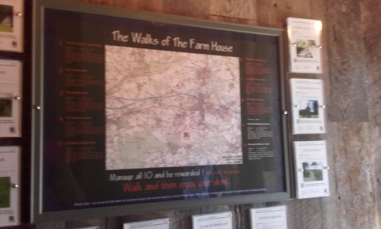 The Farm House Restaurant: Walks of the Farm House