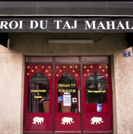 Arcueil, Γαλλία: Roi du Taj Mahal