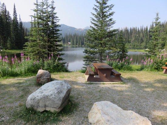 Salmo, Canada : Picnic area