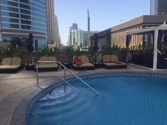 Swimming Pool Picture Of Movenpick Hotel Jumeirah Beach Dubai Tripadvisor