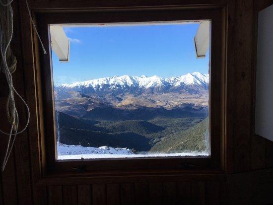Methven, Nueva Zelanda: Great day of skiing - in spite of rough conditions - at Broken River!