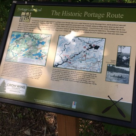 Ironton, MN: the historic portage route