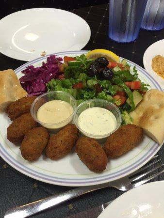 Ali Baba Express: falafel plate
