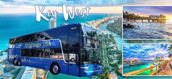 Xcursions USA - Day Tours : Miami to Key West Bus Service