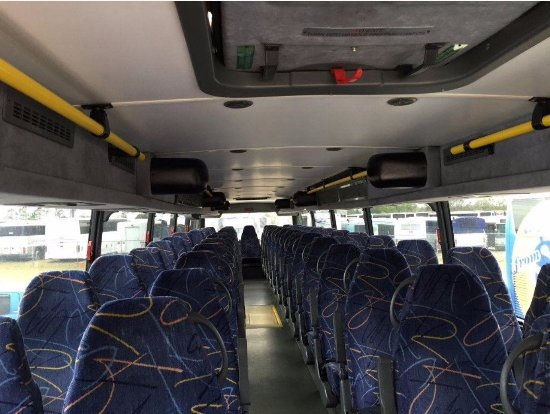 North Miami Beach, FL: Double Decker Bus interior
