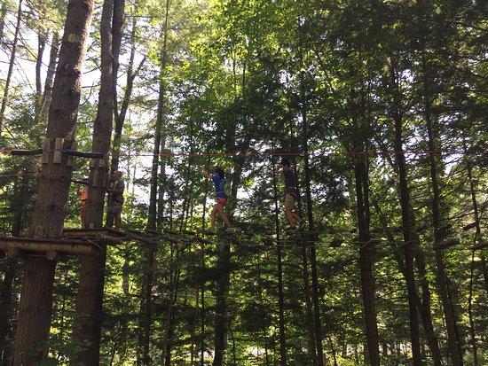 Adirondack Extreme Adventure Course: practice course