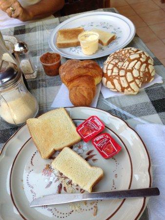 Hotel San Clemente: petit déj'