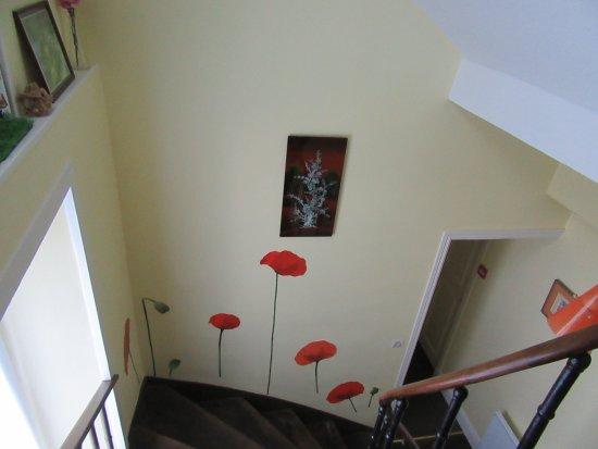 Vire-Normandie, France: escalier