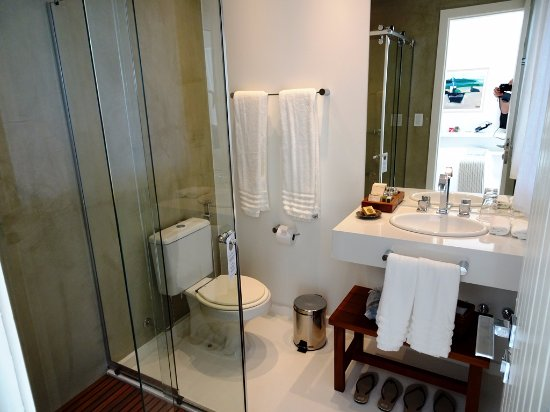 Casas Brancas Boutique Hotel & Spa: Bagno Camera 8