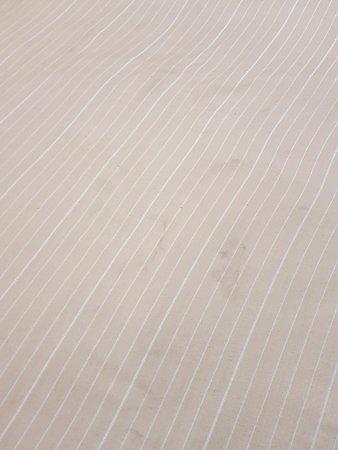 Mariposa, CA: dirty top cover sheet