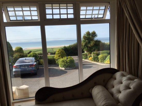 Castlegregory, ไอร์แลนด์: Ocean view from my room