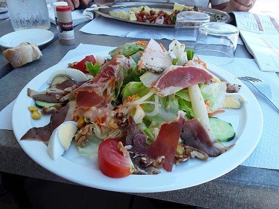 Auguste : Salade landaise